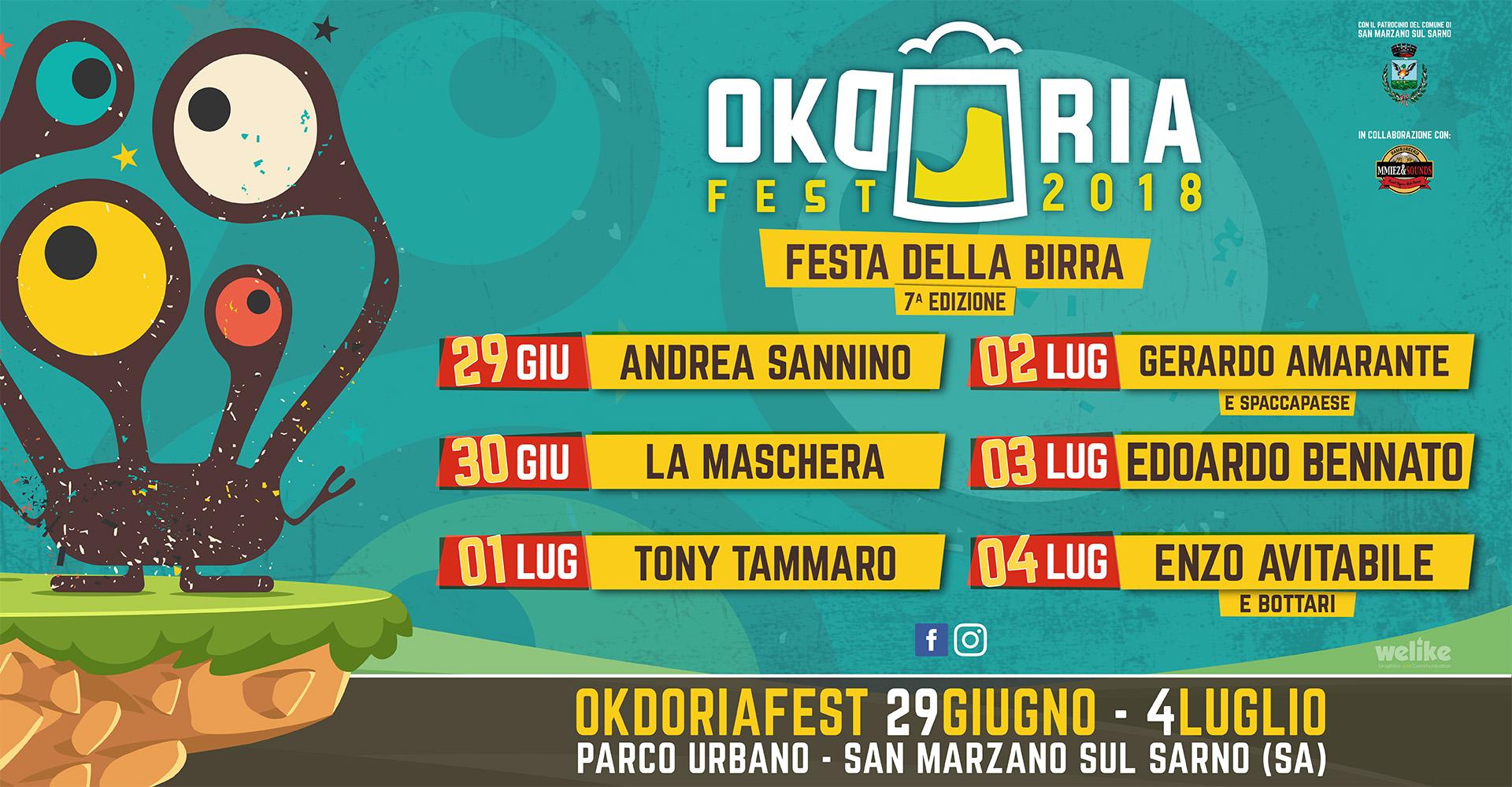 Okdoriafest2018 - Programma